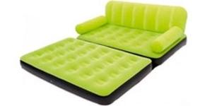 مشاهده محصولات کاناپه بادی تختخواب شو